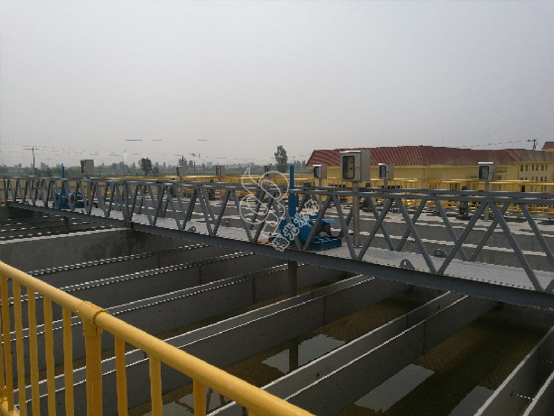 Sewage treatment plant and supporting pipe network project in Hexin Town, Yangxin County